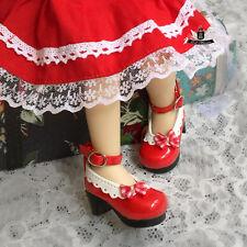 Yosd Shoes 1/6 BJD Shoes Tiny Lolita Red Shoes Dollfie DREAM Luts Dollmore AOD