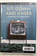 Sit Down and Cheer[sport on TV] by M Kelner : Unabridged Cassette Audiobook (L1)