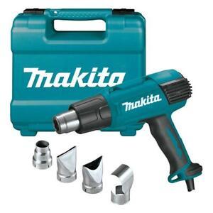 Makita HG6530VK 120 Volt LCD Digital Display Variable Temperature Heat Gun Kit
