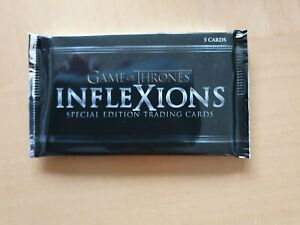 Game of Thrones InfleXions Trading Card Pack INTERNATIONAL