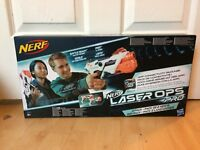 NERF Laser Ops Twin Pack 2 X Nerf Guns Free 24 Hour Delivery..