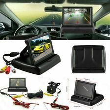 Waterproof Car Reversing Camera Backup Cam Rear View Kit TFT 4.3 LCD Monitor