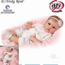 Ashton Drake doll Olivia Lifelike interactive Baby Newborn Girl
