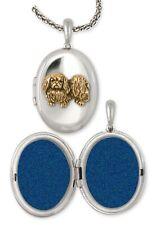 Pekingese Photo Locket Handmade Sterling Silver Dog Jewelry Pk12-Vvm