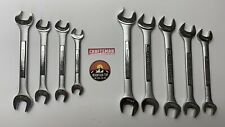 NEW CRAFTSMAN 9 PC SAE & Metric MM Double Open End Wrench Set