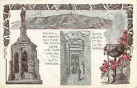 Cartolina di Crespano del Grappa, sacrario militare del Monte Grappa - Treviso
