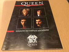 More details for queen biography + complete discgraphy official fanclub limited edition