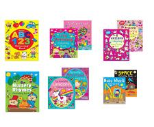 Kids Boys Girls Puzzle Activity Colouring Books A4 Kids Fun Activity Unicorn
