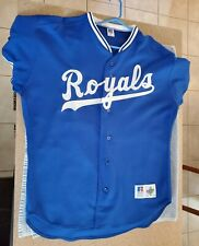 Used Vintage Russell Authentic George Brett Kansas City Royals Jersey Size 48