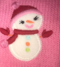 NWT Gymboree Cozy Cutie gloves mittens 4t 5t snow man snow lady christmas holida