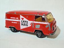 MAJORETTE FRANCIA RED VW VOLKSWAGEN FOURGON  Nº 244 1/60 Autobus Caffè HAG