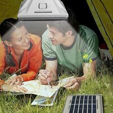White 5050 SMD 25LED Lamp Bulb Solar Camping Remote Control Tent Indoor Light