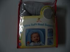 Gold Bug Ultra Soft Grey Baby Head Support
