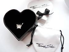 New Genuine Authentic THOMAS SABO Sweet Diamond Butterfly Pendant     RRP-$169