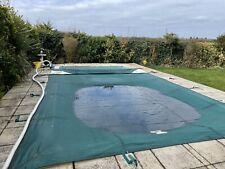 More details for swimming pool winter cover nylon mesh size 24 ft x 12 ft 10