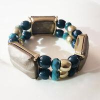 New Chicos Stone Stretch Statement Bracelet Gift Fashion Women Party Jewelry