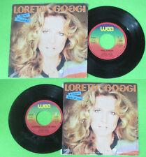 LP 45 7'' LORETTA GOGGI Pieno d'amore Arrivederci stella del nord no cd mc vhs*