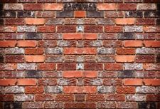Red Brick Wall Texture Photography Background 7x5Ft Vinyl Studio Backdrops