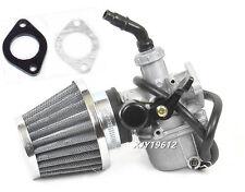 50cc 70cc 90cc 110cc 125cc ATV Dirt Bike Go Kart Carburetor Gasket Air Filter