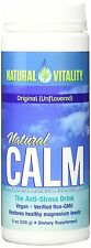 Natural Calm - Superior Magnesium Powder Anti Stress Drink, 8 oz Unflavored