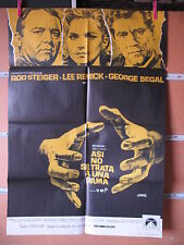 A2365 ASI NO SE TRATA A UNA DAMA ROD STEIGER LEE REMICK GEORGE SEGAL