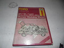 Ford Fiesta 1976-83 Owner's Workshop Manual (Haynes)