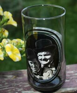 Arby's 1979 Promotional   *LAUREL & HARDY*  Drinking Glass Tumbler