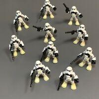 10x Playskool Star Wars Galactic Heroes Jedi Force Tatooine Sand Trooper Figure