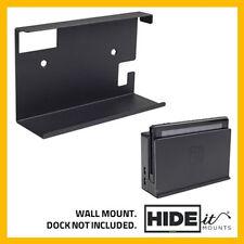 HIDEit Nintendo Switch Wall Mount Bracket Display (Black) HIDE IT