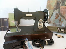 VTG. WHITE ROTARY SEWING MACHINE 1948 SERIES 77 / CASE / ACC..... our item #4157