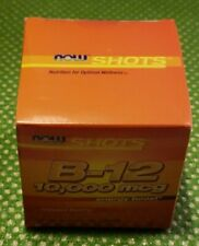NOW Foods - B-12 SHOTS - 10k Mcg Energy Boost - Mixed Berry - 12 Shots - 2/2021