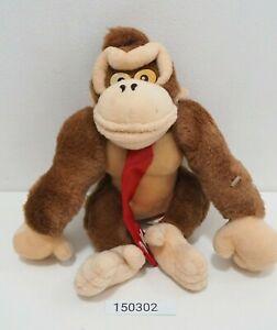 "Super Donkey Kong 150302 DK Banpresto 1995 Plush 9"" Stuffed Toy Doll Japan"