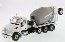 Diecast Masters 71074 - Peterbilt 579 Truck White McNeilus Concrete Mixer 1 50