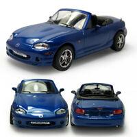 1:43 Mazda MX-5 Cabrio Metallic Modellauto Auto Spielzeug Model Sammlung Blau