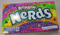 NERDS RAINBOW THEATER BOX candy 5oz 141.7g tiny tangy ex- Nestle Wonka branded