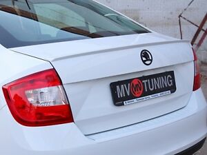 MV-Tuning Trunk (lip) Spoiler for Skoda Rapid 2012, 2013, 2014, 2015, 2016, 2017