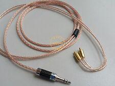 1.2m OCC Cable sony XBA-Z5 XBA-A3 XBA-A2 XBA-H3 XBA-H2 Carbon 3.5mm