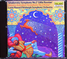 Lorin MAAZEL: TCHAIKOVSKY RIMSKY-KORSAKOV Sinfonie 2 TELARC CD Antar Symphony