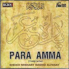 POUR AMMA COMPLETE - SHEIKH MISHARY RASHID ALFASAY - TOUT NEUF ISLAMIQUE CD
