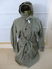 #3 US ARMY WW2 Winter Parka Overcoat SHELL PARKA Small m. ALPACA LINER MOD