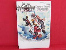 KINGDOM HEARTS 3D Dream Drop Distance Dream World Navigation book / 3DS