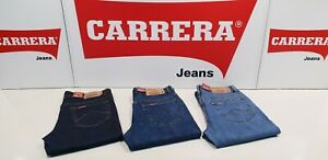 Jeans uomo Carrera Mod. 700/01021 100% cotone. Vita regolare gamba comoda