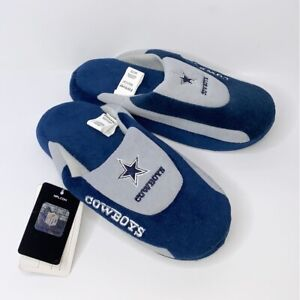 Forever Collectibles Dallas Cowboys Slide Style Slipper Officially NFL Licensed