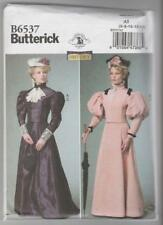 Butterick Sewing Pattern B6537 Miss Victorian Edwardian Top Skirt Costume 6-14