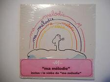 MATTHIEU CHEDID -M- : MA MELODIE (avec LE CLIP) ♦ CD SINGLE NEUF PORT GRATUIT ♦