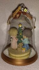 """Precious Moments """"Our First Christmas Together"""" Glass Bell Ornament (undated)"""