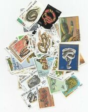 50 Different Serpents Stamps
