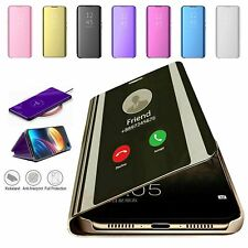S-View Clear Mirror Leather Case For Samsung S21 S20 Ultra Plus S10S9 Note 20 10