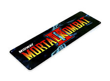 TIN SIGN Mortal Kombat 2 Arcade Shop Game Room Marquee Console Metal A509