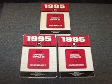 1995 Chevy Caprice Impala SS & Buick Roadmaster Shop Service Repair Manual Set
